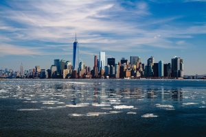 International Moving to New York Landscape
