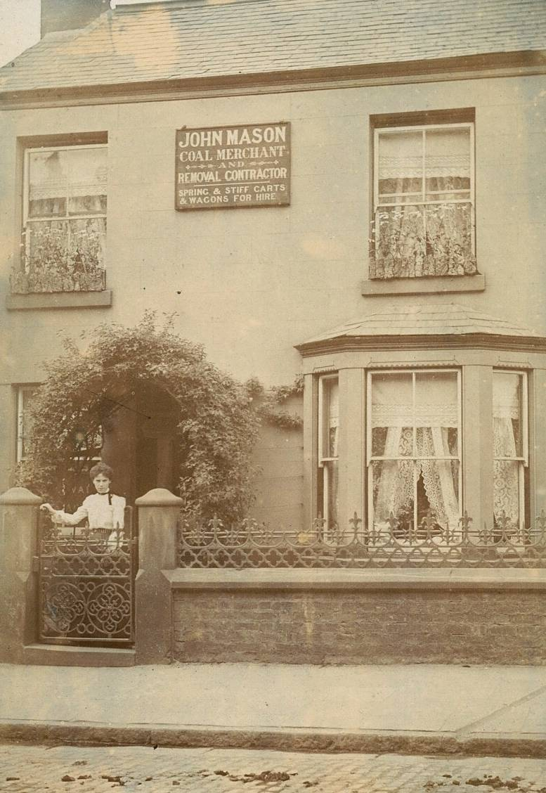 Mary Mason Outside 85 High St, Wavertree